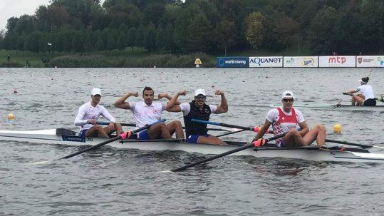 Hrvatski četverac s braćom Lončarić 9. na Europskom prvenstvu