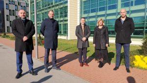 Članovi Predsjedništva: Boris Popadić, Mirna Rajle Brođanac, Ivan Jukić, Danijel Ilić i Boris Čagalj